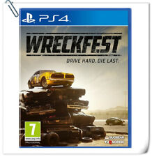 PS4 WRECKFEST SONY PlayStation THQ Nordic Racing Games