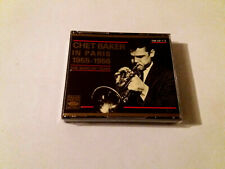 "CHET BAKER ""IN PARIS 1955-1956 THE BARCLAY YEARS"" 2CD 31 TRACKS COMO NUEVO"