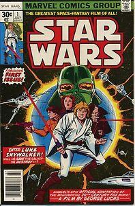 STAR WARS #1 NM/MINT Marvel Comics 1977