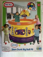 Little Tikes Slam Dunk Big Ball Pit with 20 Soft Balls