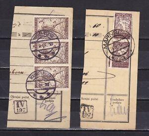 Slowenien, SHS, Jugoslawien, STEMPELN MAHRENBERG, 1919