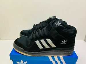 ADIDAS FORUM MID BLACK GREY (RARE RELEASE) UK11 US11.5 (BRAND NEW)