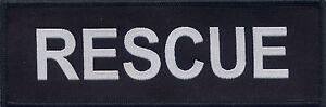 Rescue Badge Patch 15cm x 5cm