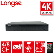 Longse 8MP 4K UHD 4CH 8CH DVR XVR CCTV Recorder Face Detection and Comparison