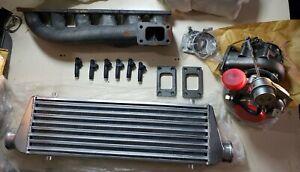 Bmw m50 m52 m54 e36 e46 Turbo Manifold Siemens 630cc Injectors Intercooler Kit