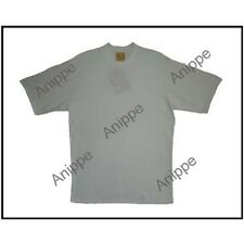 New 100% Egyptian Cotton Plain Ivory T Shirt Undershirt Ivory T Shirt X large