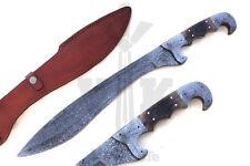 Damascus Steel Hunting Knife Handmade  - 20 inches long Machete jnr1008