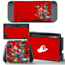 Ci-Yu-Online [NS] Super Mario Odyssey Red #2 VINYL SKIN STICKER Nintendo Switch