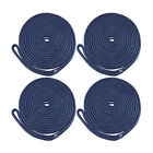 4 Pack 38 Inch 15ft Double Braid Nylon Dock Line Mooring Rope Boat Anchor Line
