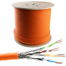 500m Cat 7 Verlegekabel 1000MHz S/FTP PIMF simplex 10Gbit Netzwerkkabel Spule
