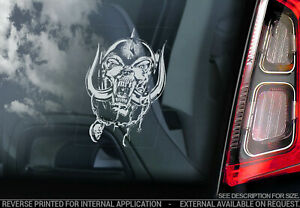 MOTORHEAD Car Sticker - Warpig Snaggletooth Decal Window Bumper Decal Sign - V06