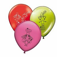 BEN AND HOLLY'S LITTLE KINGDOM Latex Birthday Party Balloons x 6