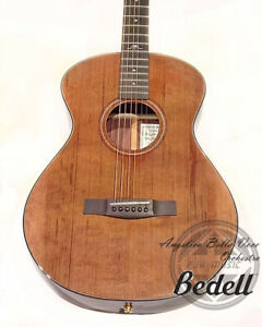 Bedell Angelica Bella Voce red Cedar & rosewood hand-crafted Guitar with pickup