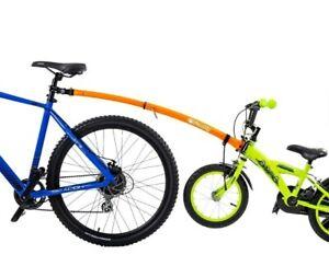 "ETC TOWBUDDY Bicycle Towbar Childs 12"" - 20"" Wheel Tag Along TRAILER ORANGE"