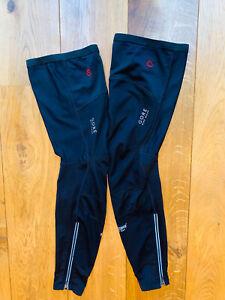 Gore Bike Wear Windstopper Soft Shell Leg Warmers Size L