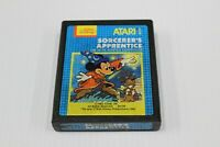 Sorcerer's Apprentice (Atari 2600, 1983) Mickey Mouse Cart Only Tested Ship Free
