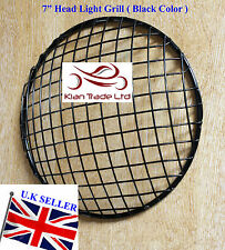 ROYAL ENFIELD UNIVERSAL BLACK PAINTED HEAD LIGHT PROTECTIVE GRILL