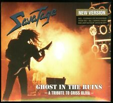 Savatage Ghost in The Ruins Live Tribute To Chris Oliva CD digipack 2011 reissue