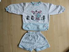 DOLCETTO 2 Pezzi Set per bambine di Kiko, Tg. 104/110, Bianco-Mint, Disney