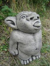 Tounge troll stone garden ornament <<VISIT MY SHOP>>