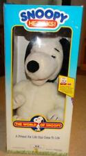 VINTAGE WORLD OF WONDERS WOW WORLD OF SNOOPY TALKING DOLL in BOX