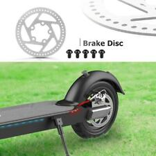 120mm Silver Steel M365 PRO Brake Disc for Electric Scooter w/ 5pcs Screws Kits