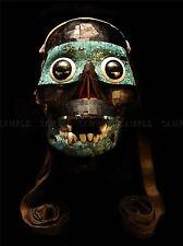 AZTEC SKULL FACE MASK TEZCATLIPOCA PHOTO ART PRINT POSTER PICTURE BMP488A