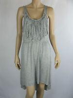 Roxy Ladies Nightshade Sleeveless Summer Dress sizes 10 12 Colour Grey