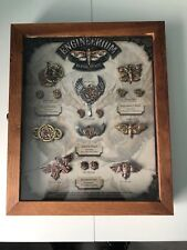New Anne Stokes Limeted Edition Engineerium Jewelry Display Complete Set