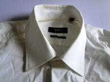 Hugo Boss Regular Fit Herren Hemd Langarm Weiß Unifarben KW39