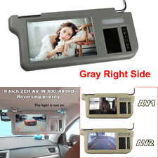"9"" Car Right Sun Visor LCD Monitor 2-CH Video For DVD/VCD/GPS/TV&Rearview Camera"