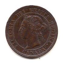 1901 Canada Large Cent--Fabulous Hair & Crown Details !!