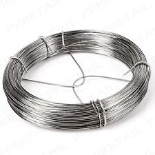 125m Long Picture Hanging Wire GALVANISED Mirrors/Canvas/Photo Frame Cord/Cable