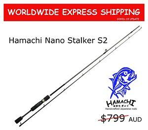 2022 Hamachi Nano Stalker S2 JDM 2-4kg ultralight Japanese spin fishing rod pole