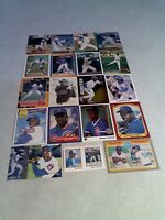 Shawon Dunston:  Lot of 175+ cards.....90 DIFFERENT / Baseball