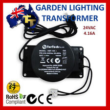 OUTDOOR GARDEN LIGHT LIGHTING TRANSFORMER 24VAC 105VA HBF-105A IP66 low voltage