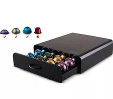 20/40 New Nespresso Vertuoline Coffee Capsules Pod Storage Drawer Holder Black