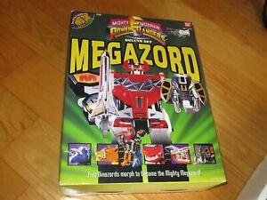 1993 DELUXE SET MEGAZORD POWER RANGERS wt BOX Ban Dai Power zord