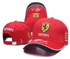Ferrari Hat Car Horse Logo Baseball Red Cap Racing Team Men Women Polo Head 3D