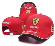 Ferrari Hat Car Horse Logo Baseball Red Cap Racing Team Men Women Polo Head 3D