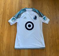 Minnesota United FC Adidas Climacool Away Jersey Mens Small EUC MLS Loons