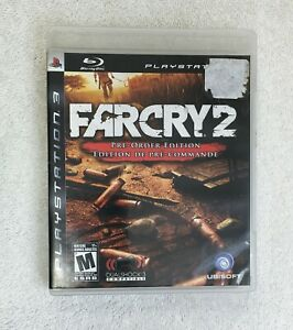 Far Cry 2  Pre-Order Edition  (Sony PlayStation 3, 2008)  Complete with Map