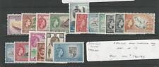 Solomon Islands, Postage Stamp, #89-105 Mint NH, 1956-60, JFZ