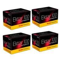 4X Kodak Professional Ektar Colour Print Film 35mm 135-36 Exposures 100ASA
