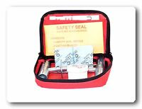 Made in the U.S.A Red Box Safety Seal Tire Repair String Kit Passenger SUV