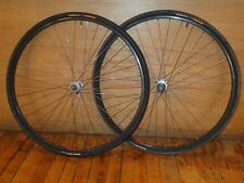 Vintage Wheelset Mavic MA40 / Shimano 600 6400 tricolor DT double butted spokes
