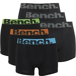 Bench Mens Boxer Shorts / Trunks - Assorted 6 Pack - All Sizes - Great Value