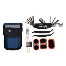 RockBros Bicycle Portable Tyre Repair Kit Tools Bag Multi-function Tool