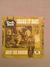 JOHN LEE HOOKER - Shake it baby / Let's make it baby - 45 t