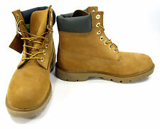 Timberland Boots 6 Inch Premium 2.0 Cupsole Wheat/Brown/Gum Shoes Size 8